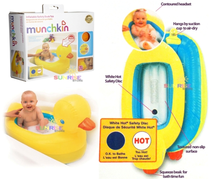 Munchkin Inflatable Safety Duck Tub RM 98 Sunrise Store